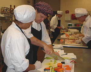 culinary chef and student