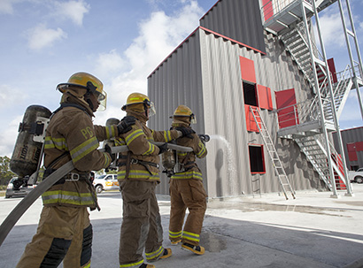 Fire Training Facility Open House
