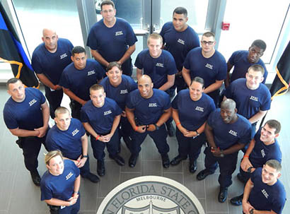 Law Enforcement Academy students