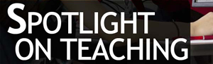 Go to 'Spotlight on Teaching' web page