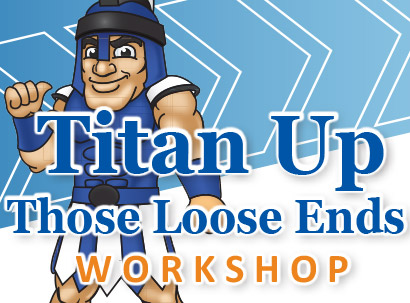 Titan Up workshops graphic