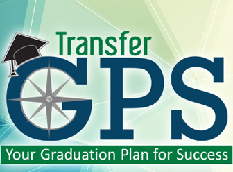 Transfer GPS graphic with grad cap - text: Your Graduation Plan for Success