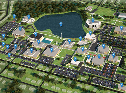 Cocoa Campus map image