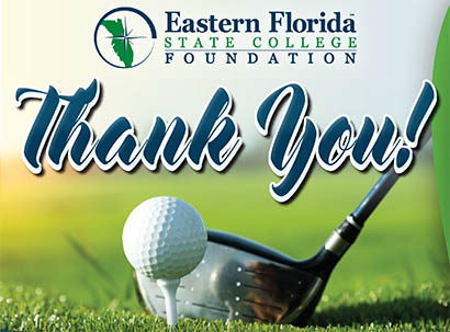 Golf Tournament Sponsors Thank You Ad