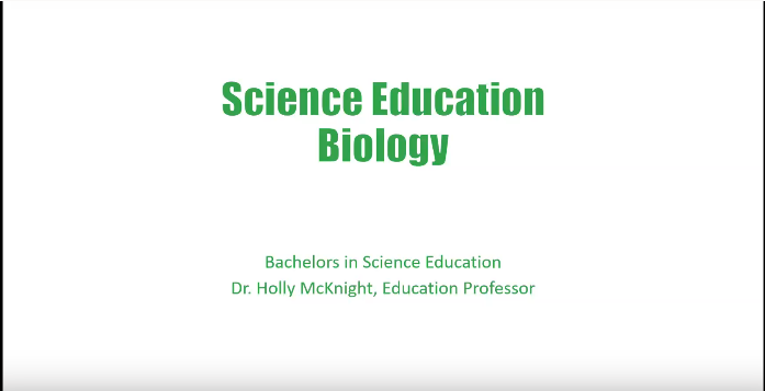 Science Education Biology text