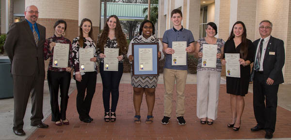 Academic All Stars at County Commission