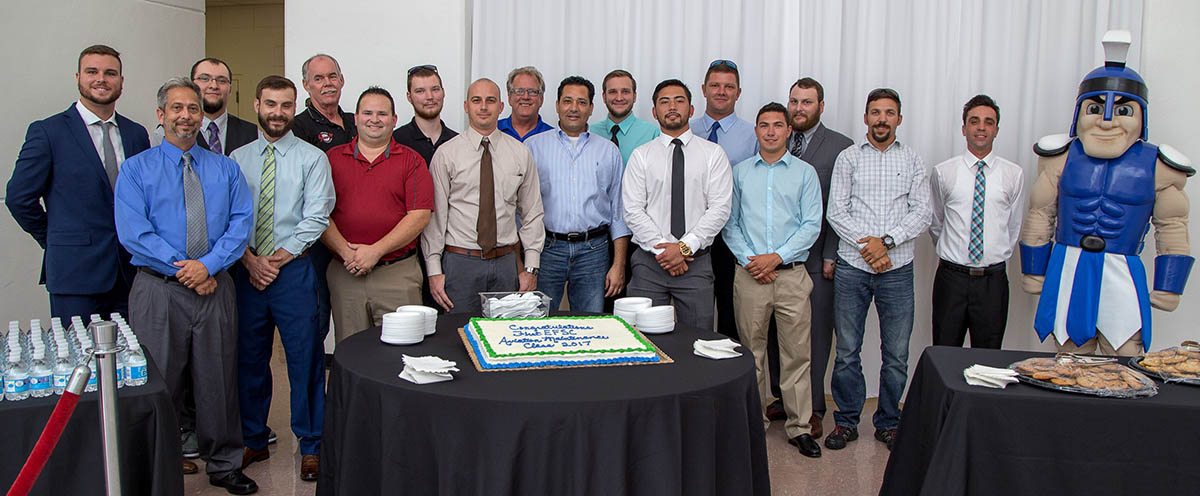 EFSC Aviation Program Graduates