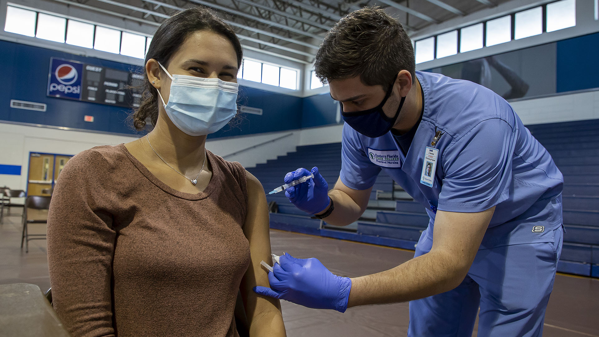 EFSC students get vaccinated