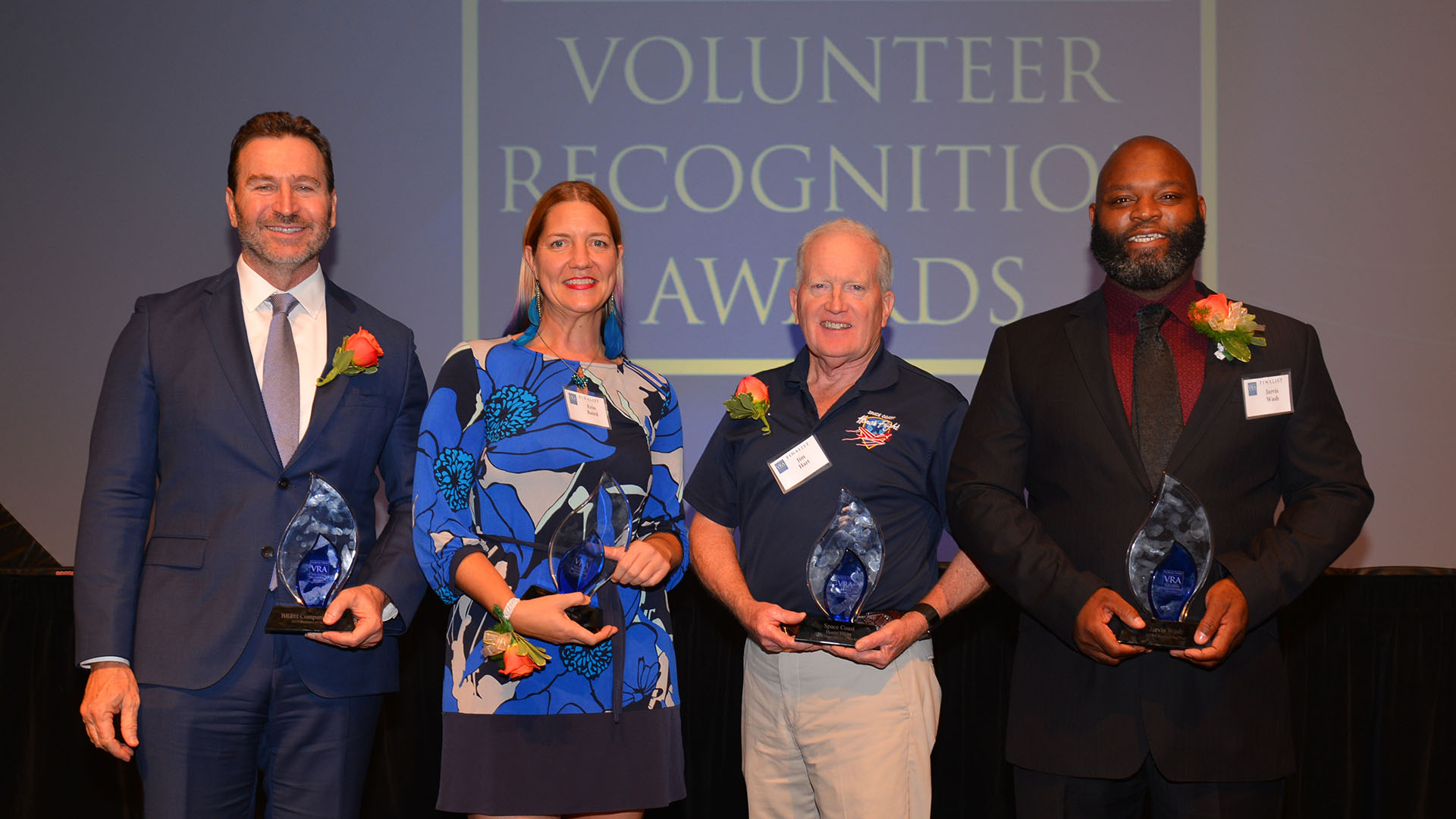 Florida Today Volunteer Recognition Award Winners