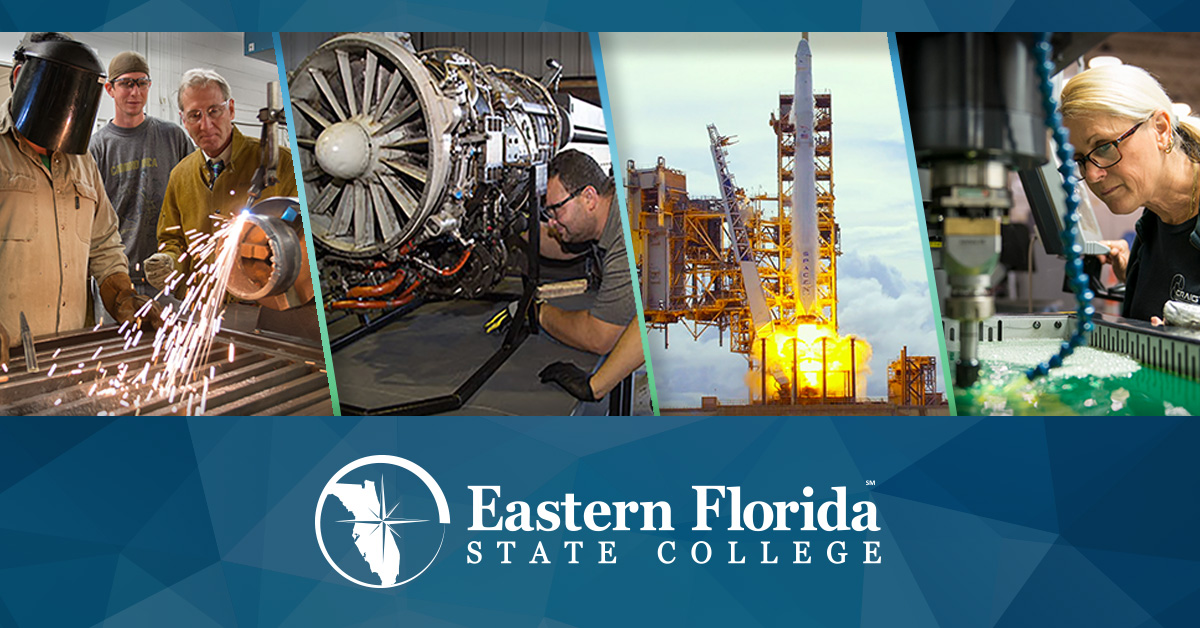 welders, aviation engine maintenance, rocket launch and female advanced manufacturing worker