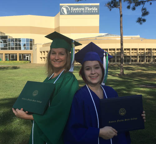 Spaccio Mother-Daughter EFSC graduates