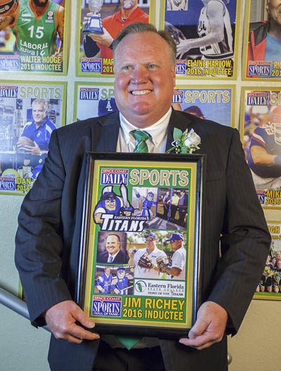 Dr. Jim Richey Hall of Fame Induction