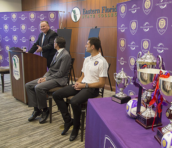 Orlando City B Soccer news conference