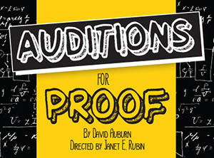 Proof Auditions at EFSC