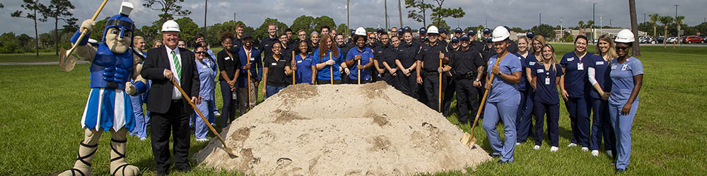 EFSC Breaks Ground on First Residence Hall