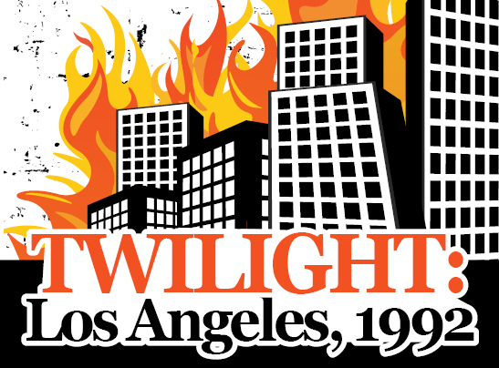 Building graphic with Twilight: Los Angeles 1992 text