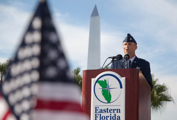 Lt Col Athey - EFSC Veterans Day Ceremony
