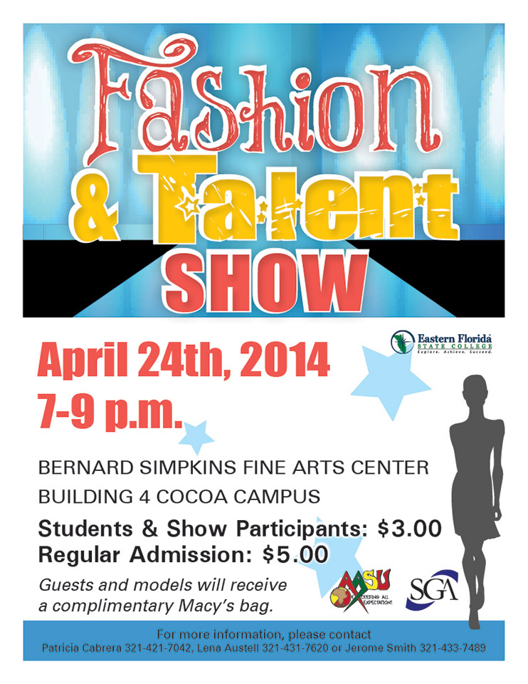 Eastern Florida State College | Fashion And Talent Show
