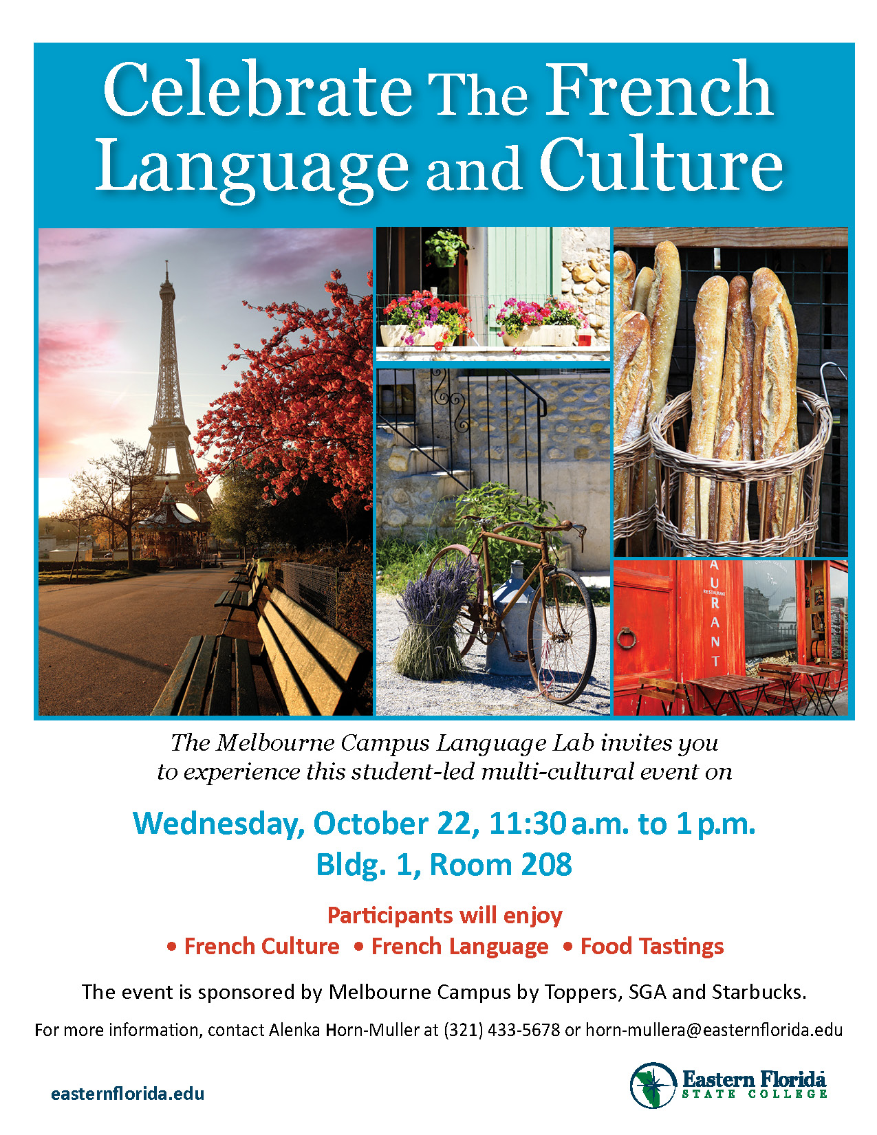 Eastern Florida State College | Celebrate the French Language and ...