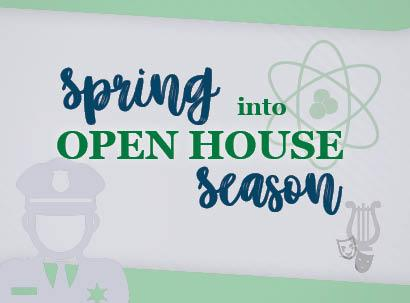 Spring Open House Line-Up