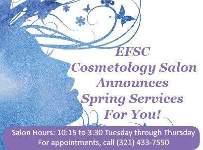 Cosmetology Services on the Cocoa Campus