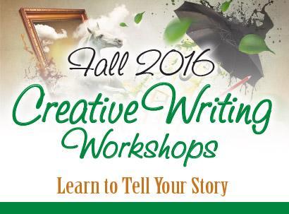 October Creative Writing Workshops