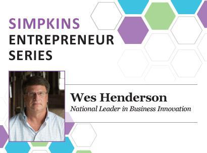 Attend Simpkins Entrepreneur Series April 10