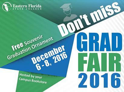 Grad Fair 2016: This Week Only!