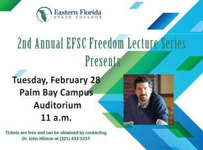 Freedom Lecture Series Event