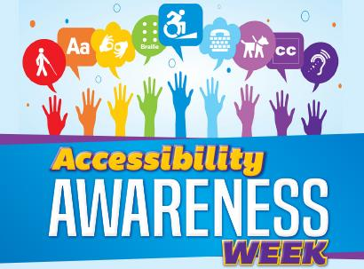 Accessibility Awareness Week is April 16-19