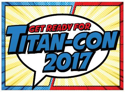 Feed Your Inner Nerd at Titan-Con