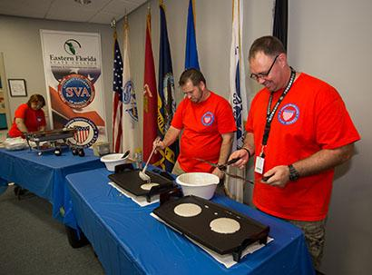 Vets Honored at Cocoa Pancake Breakfast