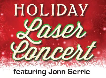 A Laser Concert for the Holidays