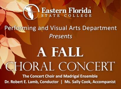 Fall Choral Concert Features EFSC Students