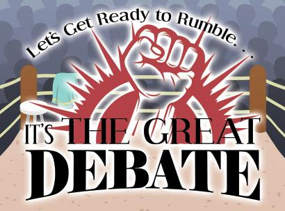 Come Watch this April 27 Debate