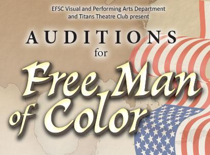 Audition for Black History Month Play