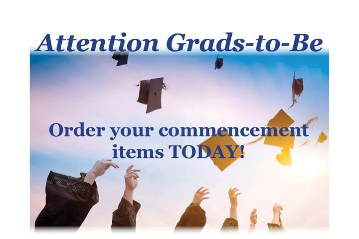 Don't Delay: Order Commencement Items Today