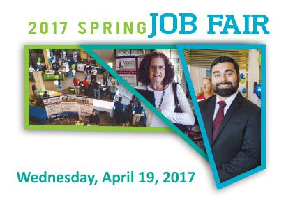 The 2017 Spring Job Fair is Coming