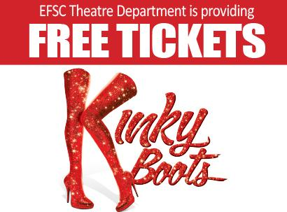 "See ""Kinky Boots"" on April 24"