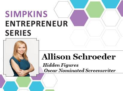 Oscar-Nominated Screenwriter Speaking 11/27