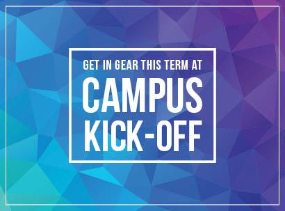 Campus Kick-Off Celebrations in August