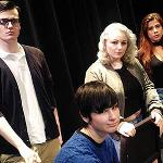 "Students present ""Information,"" a play that explores the topics of abuse and assault on a college campus."