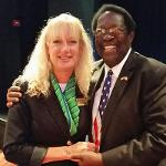 """AP Kennedy and College Ambassador Dr. Joe Lee Smith attend """"Information."""""""